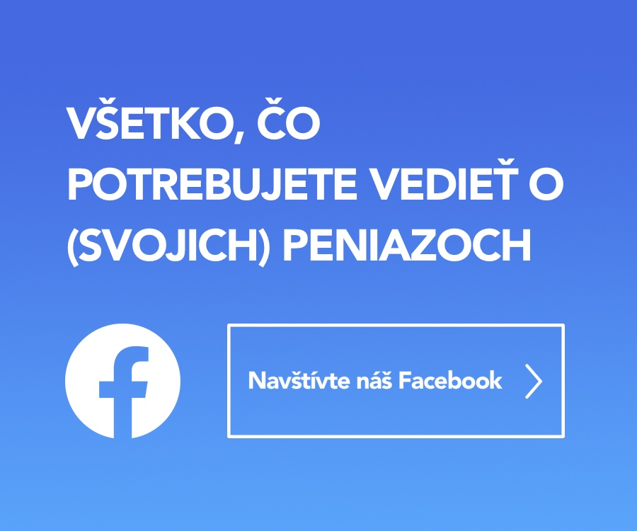 Relácia peniaze Facebook