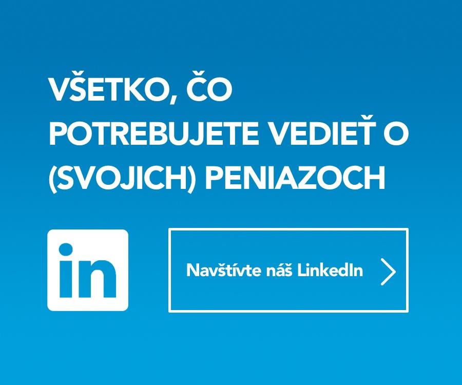 Relácia peniaze LinkedIn